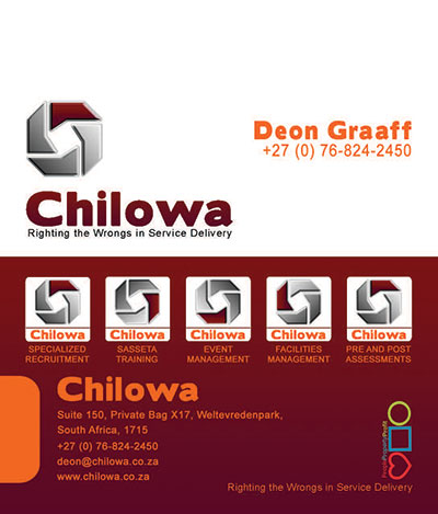 Chilowa Professional Business Card Design