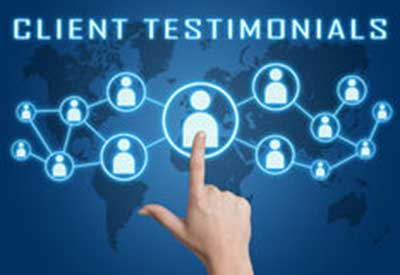 client testimonials for your business