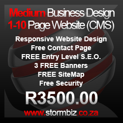 medium business website design package