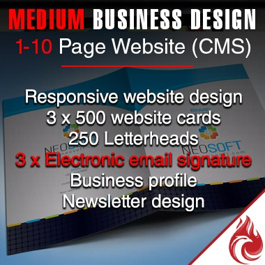 Medium Business Revamp Package
