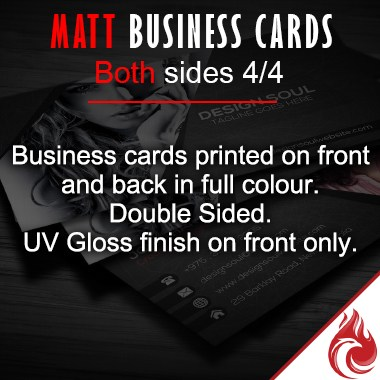 Matt Full Colour Business Cards 4/4